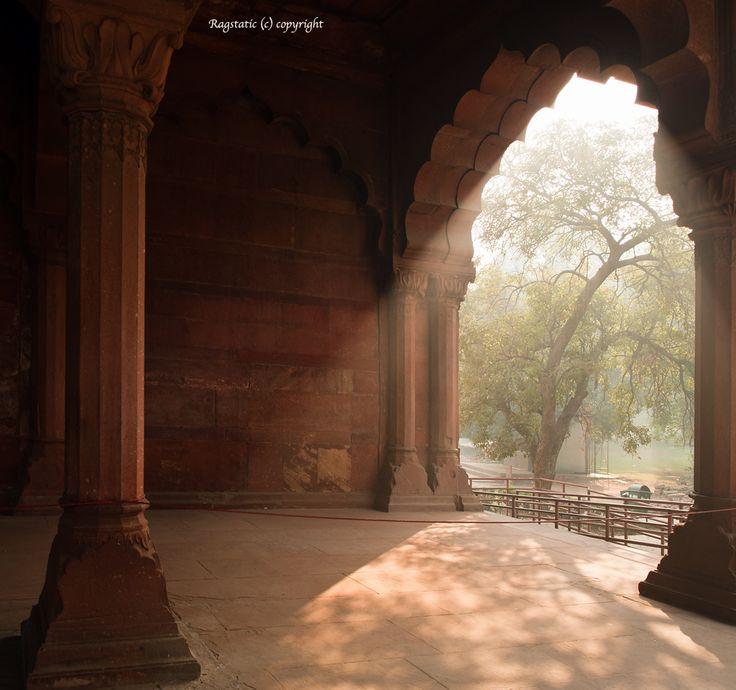 Curtain of Light & Shadows