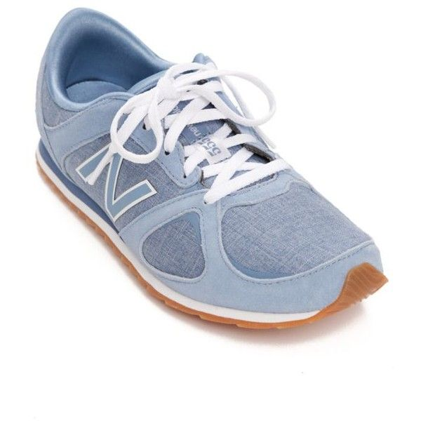 New Balance Blue 555 Running Shoe - Women's (500 NOK) ❤ liked on Polyvore featuring shoes, athletic shoes, blue, suede running shoes, new balance shoes, new balance, suede shoes and new balance footwear