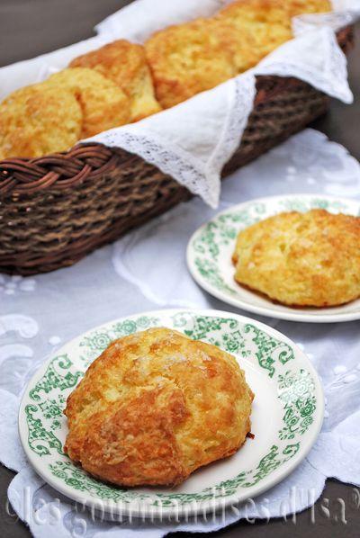 Biscuits au Cheddar