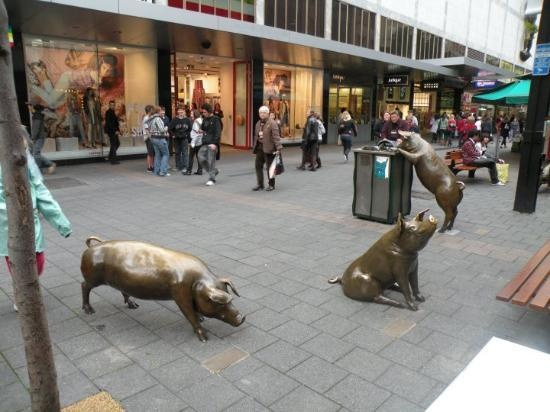 Rundle Mall, Adelaide, South Australia