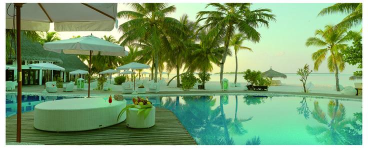 Pool at Kihad Maldives --->>> www.voyagewave.com