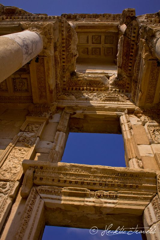 .Amazing Ephesus, ancient Greek city and later a major Roman city, on the west coast of Asia Minor