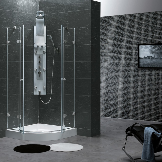 Vigo 40 X 40 Neo Round Shower Enclosure Vg6021chcl40