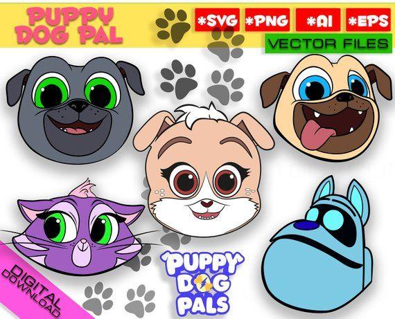 Puppy Dog Pals Svg Png Rolly Bingo Hissy Keia Clipart Puppy Dog
