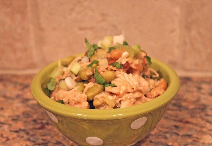 Slow Cooker Thai Coconut Chicken & Quinoa. ☀CQ #crockpot #slowcooker #glutenfree #GlutenFree  #recipes