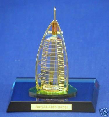 NEW CRYSTAL Burj Al-Arab, Dubai  www.tigecrystalgifts.com