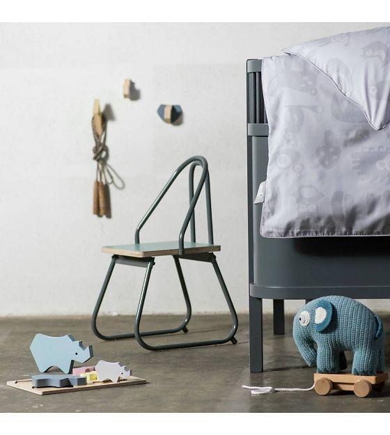 Houten Haakjes - Neushoorn, olifant en giraf