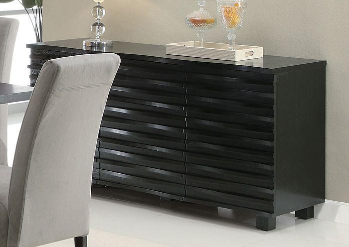 Stanton Black Server,ABF Coaster Furniture