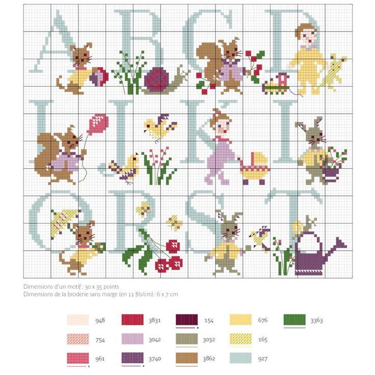 272 best images about Point de croix, Grilles gratuites / free pattern Cross Stitch on Pinterest ...