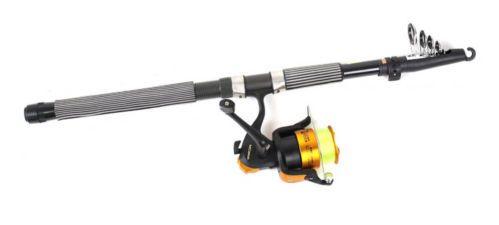 Saltwater Freshwater Fishing rod Reel Set Strong Elastic Length 3.3m