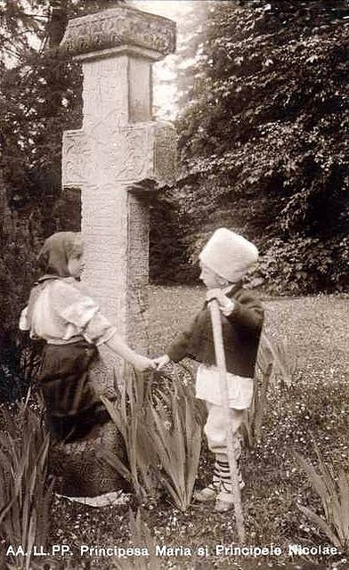 Princess Marie of Romania with her younger brother Nicolae | Flickr - Photo Sharing!