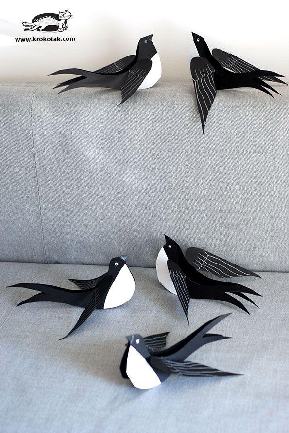 http://krokotak.com/2017/02/black-cardboard-swallow-2/