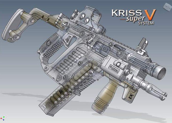 Renaud Kerbrat  (Inventor of the Kriss Super V & Kriss Kard firing mechanisms)