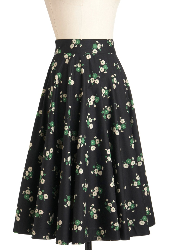 Twirling Through Town Skirt