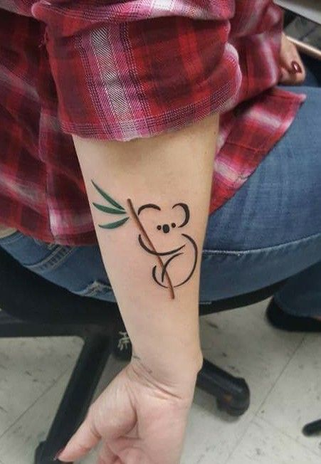 My sweet koala tattoo. Love me some Koalas