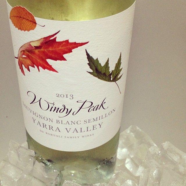 Windy Peak - 2013 Sauvignon Blanc Semillon . @debortoliwines #windypeak #yarravalleywine #yarravalley #wine #yarravalleylife