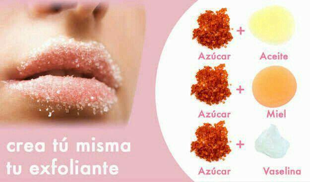 Crea tu propio exfoliante para labios, aquí te decimos cómo.  #DIY #ExfolianteParaLabios #HazloTúMisma #Belleza #TipsDeBelleza