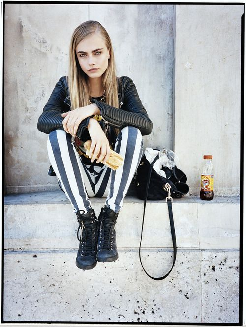 Cara Delevingne photographed by Matt Irwin for Style.com Print #3, Spring 2013