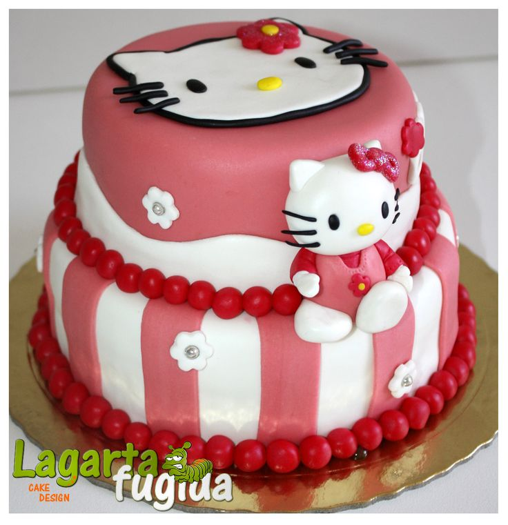 17+ best ideas about Hello Kitty Cake Design on Pinterest ...