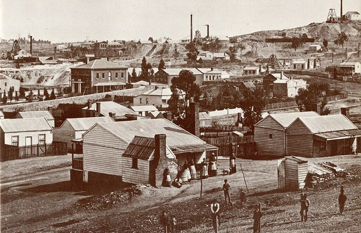 Chum Hill - 1868, Bendigo, Vic Australia
