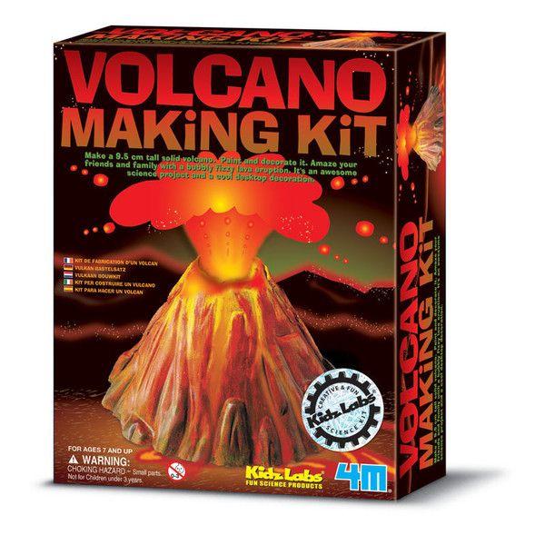 KidzLabs, eksperiment sæt - Vulkan samlesæt