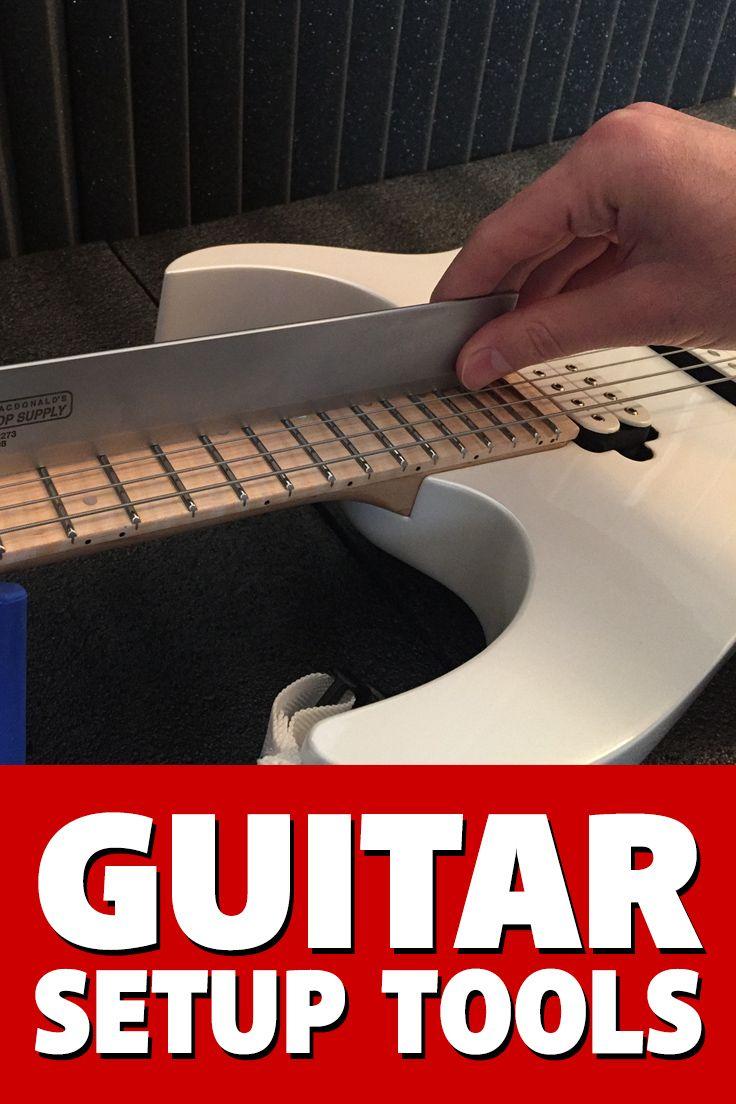 The #guitar setup tools you'll need to do your own guitar setups