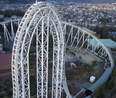 World's Scariest Roller Coasters - at 45 stories Kindgda Ka is the world's tallest roller coaster that plummets more than 400 feet..