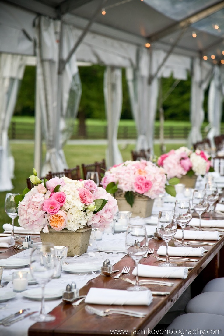 Table spring wedding tablescapes - Gorgeous Table Setting By All Things Shabby And Beautiful