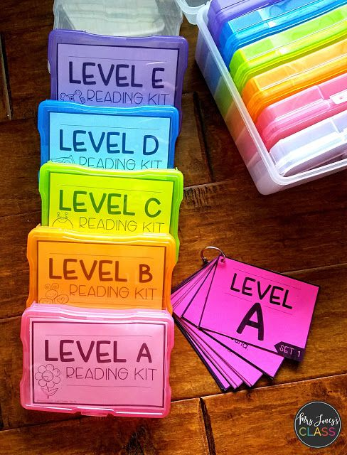 KINDERGARTEN Reading Kits! Reading levels A-E. Targeted and strategic tasks for each level.