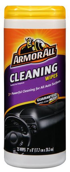 Armor All Cleaning Wipes 25 ct: Armor All Cleaning Wipes are the quick and easy way to clean your auto surfaces. The wipes are specially...