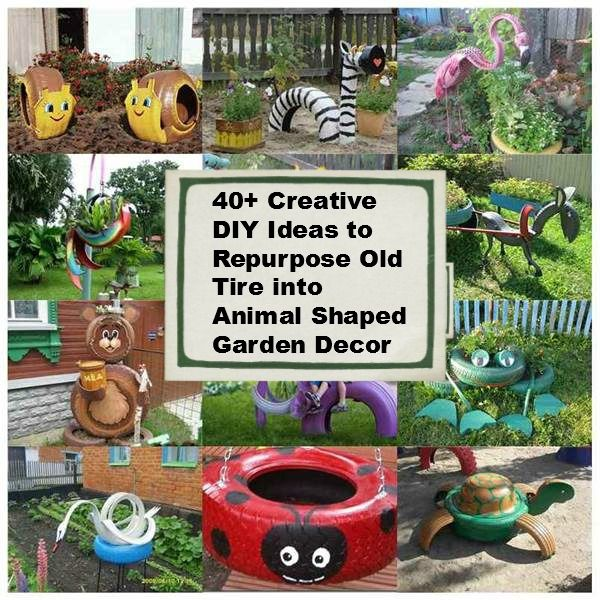 17 best images about ring around the tire on pinterest gardens recycling and something new - Garden ideas using old tires ...