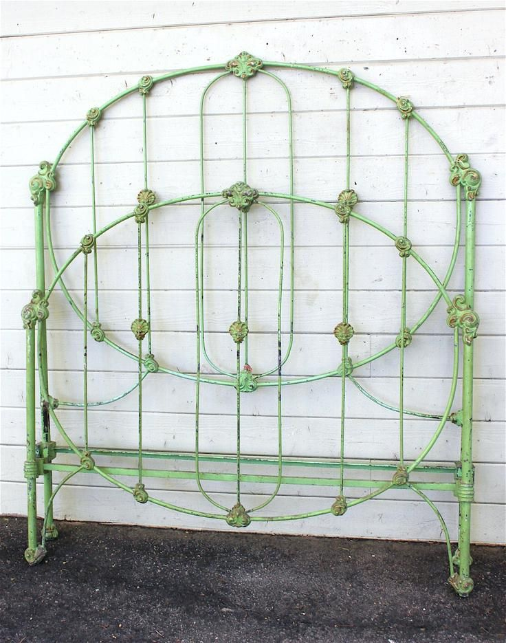 Antique Wrought Iron Beds For Sale Green Iron Bed Frame