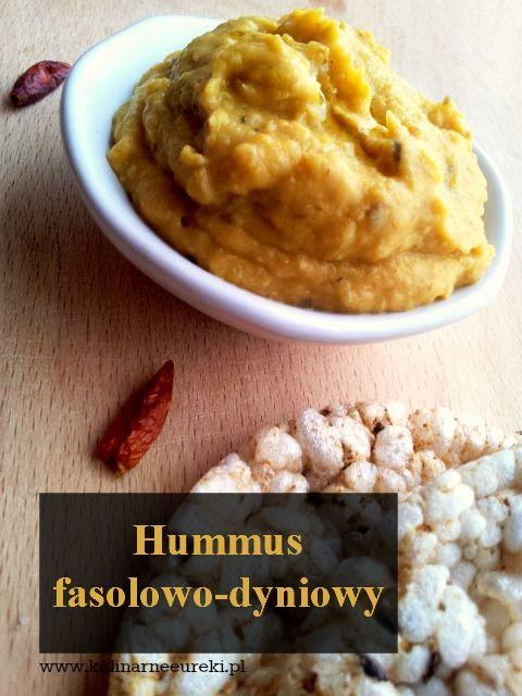 Hummus fasolowo-dyniowy