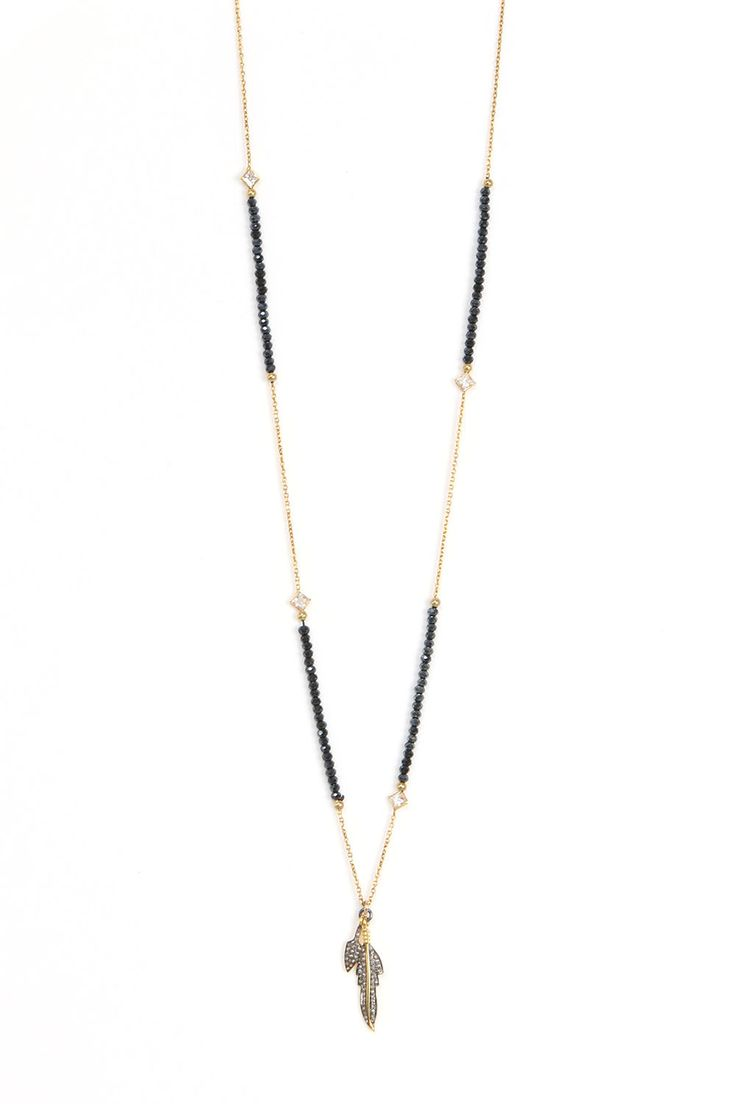 Midnight Indian Gold Necklace