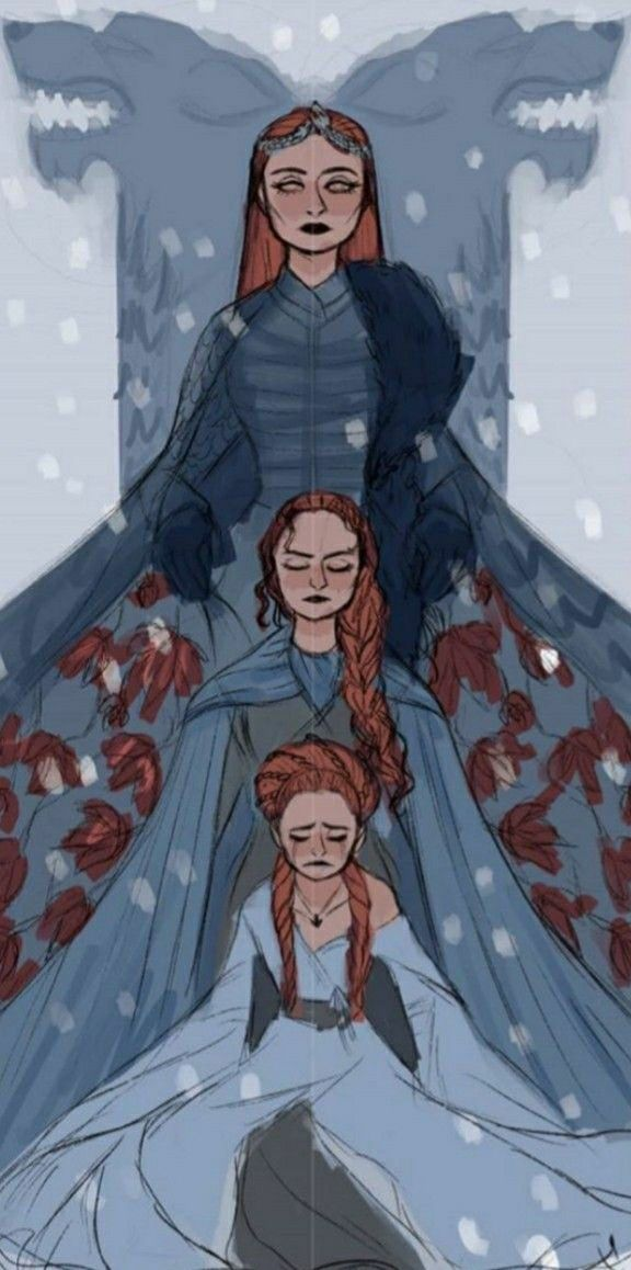 Sansa Stark Will Rise Game Of Thrones Fans Game Of