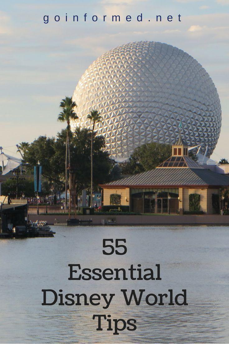 Super informative list of 55 Disney World tips. Start your Disney World planning here!