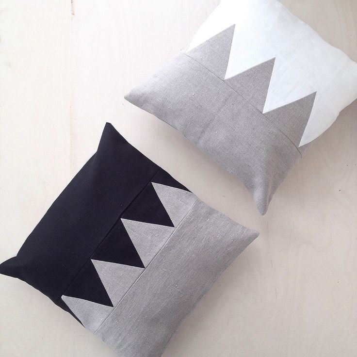 Patchwork love. Linen pillowcovers handmade with love in Finland.