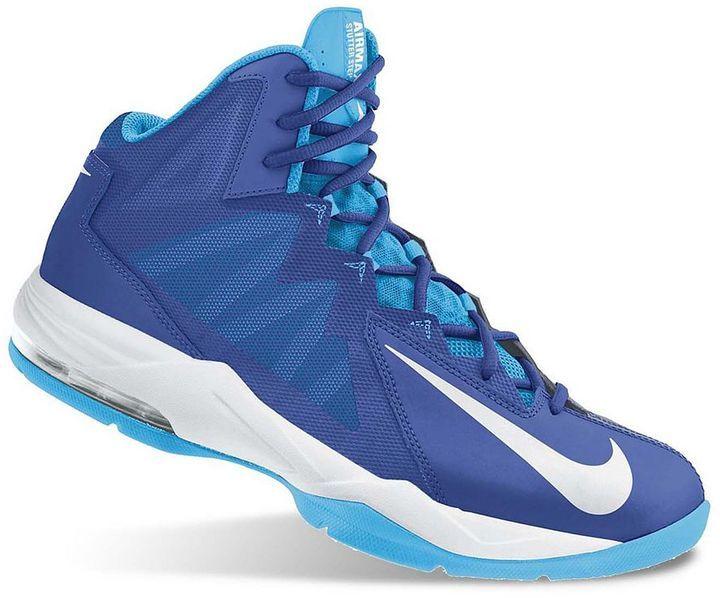 nike air max basketball shoes blue