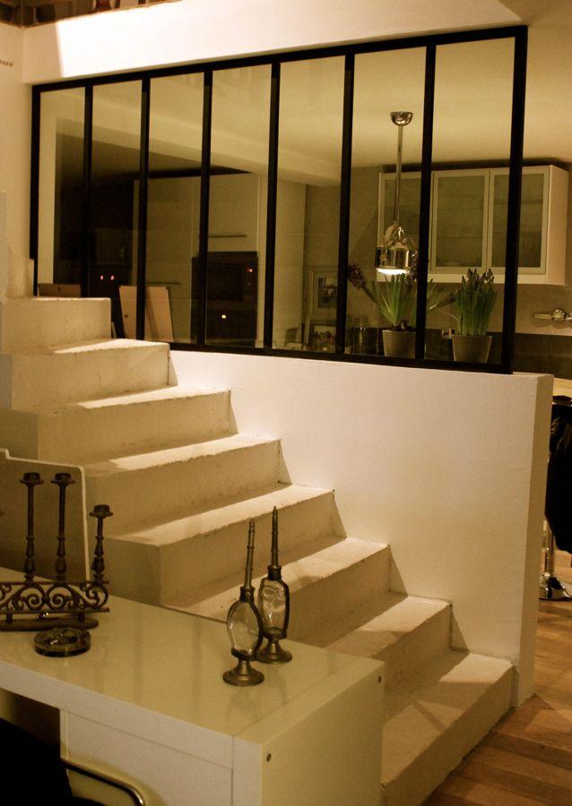 Les 25 meilleures id es de la cat gorie escalier beton sur for Achat verriere atelier