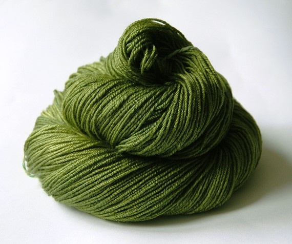 The perfect olive yarn