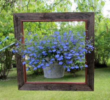 Cadre de fleurs 3D