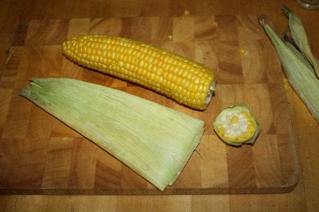 Kukorica mikrohullámú sütőben