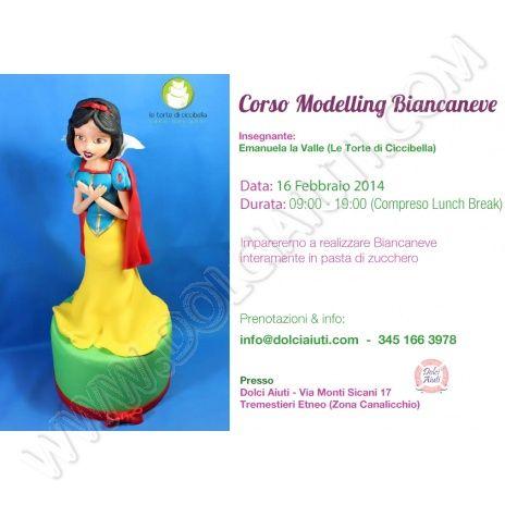 Corso Cake Design Modelling Biancaneve