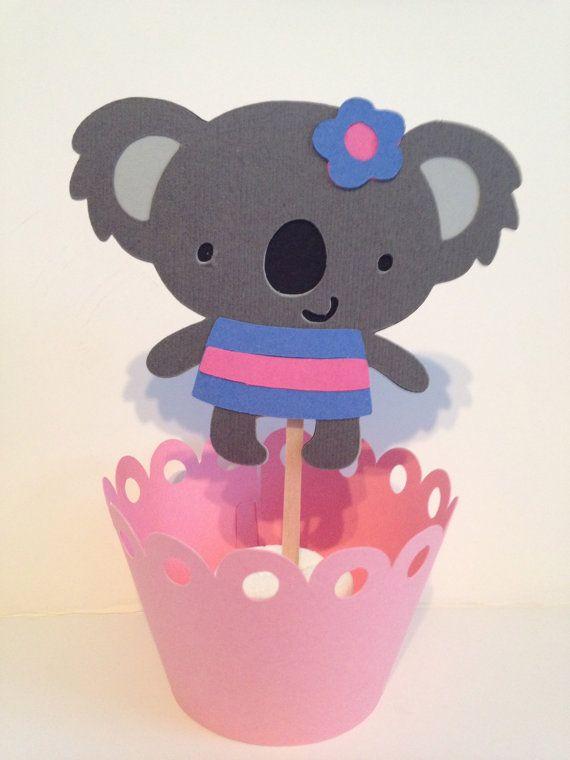 Koala Bears Cupcake Toppers on Etsy, $8.00