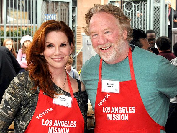 Melissa Gilbert and Timothy Busfield - engaged in Jan. 2013