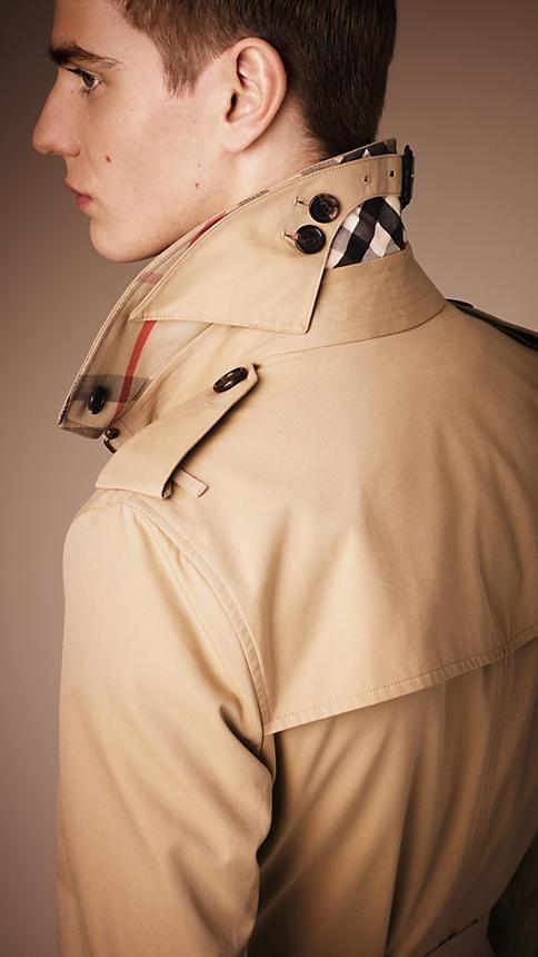 Burberry The Sandringham - Short Heritage Trench Coat