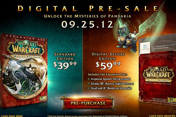 The fifth expansion to Blizzard's juggernaut of an MMO, World of Warcraft finally has a release date attached to it. Mists of Pandaria, where players get a chance to play as the elusive pandaren, eventually visit Pandaria and level to 90, is due for a September 25, 2012 release date.