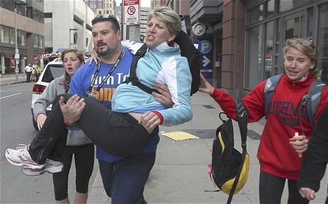 Boston Marathon heroes: Kindness and humanity amid the carnage - Telegraph