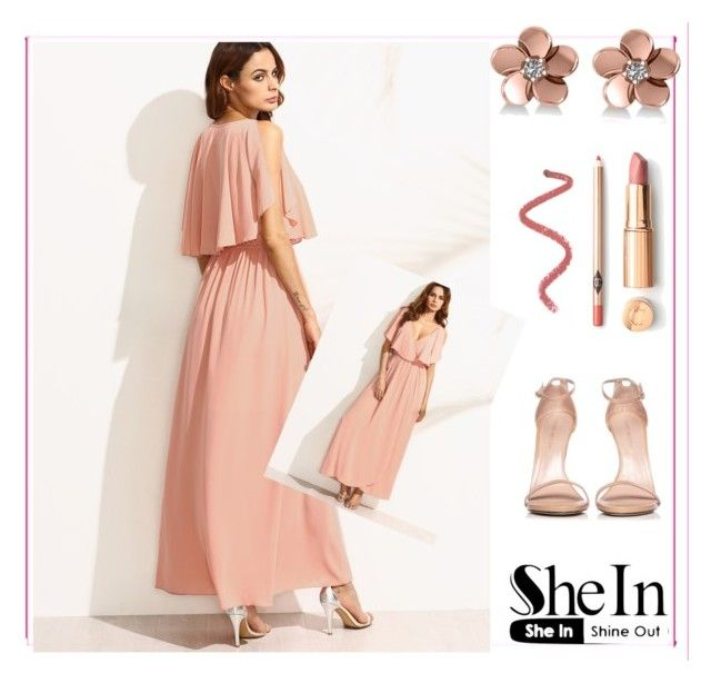 """""""Shein contest"""" by darren-ix ❤ liked on Polyvore featuring Allurez and Stuart Weitzman"""