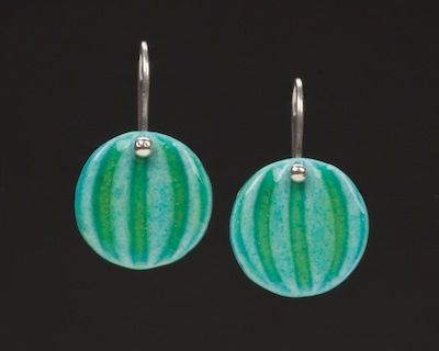 Amy Waller Pottery: http://amywallerpottery.com/ (Egyptian faience earrings)